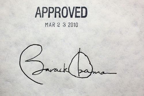 Looking at Presidential Signatures 1