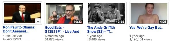 I Have The Weirdest YouTube Recommendations 1