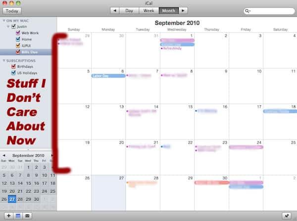 Electronic Calendar Failure 1