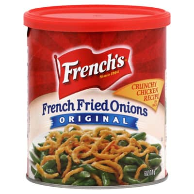 The French's Fried Onions people can go to Hell - Justin Harter of ...
