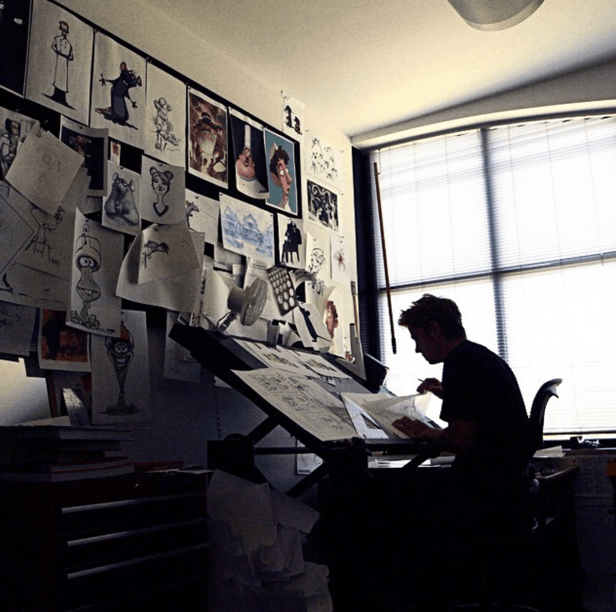 Inside the workspace and routine of Jobs, Twain, Vonnegut, and me 2