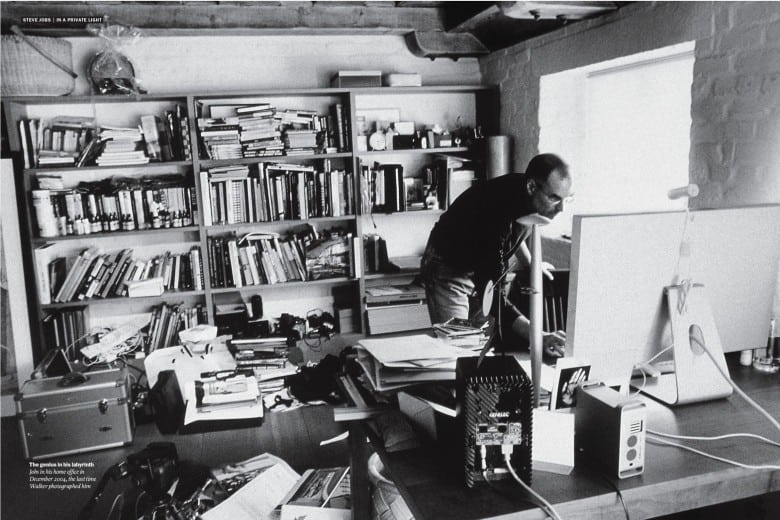 Inside the workspace and routine of Jobs, Twain, Vonnegut, and me 1