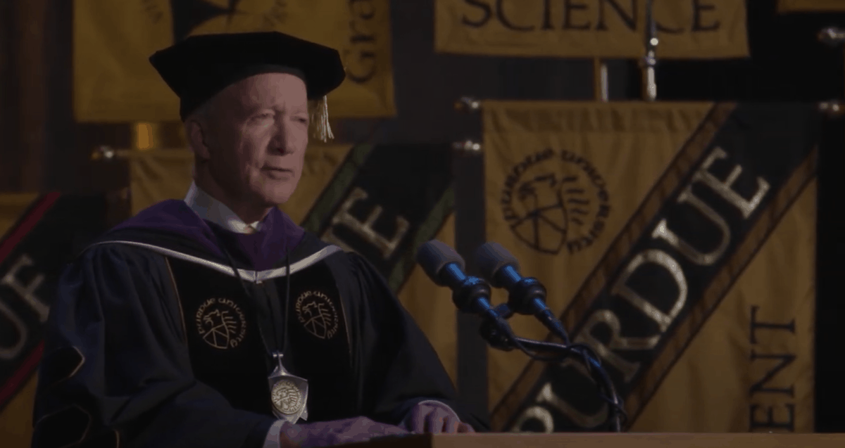 Mitch Daniels Commencement Speech 2020