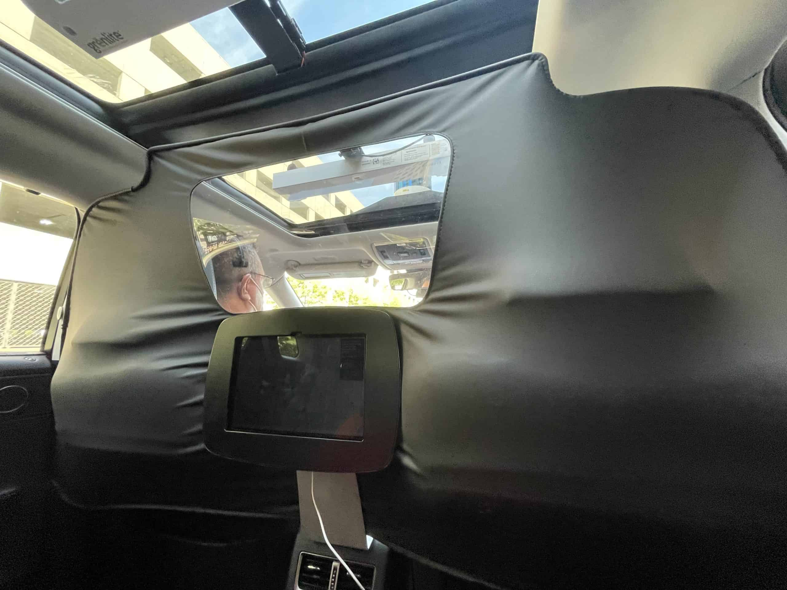 """A stranger asked, so I took a ride in one of Toyota's self-driving """"shuttles"""" 1"""