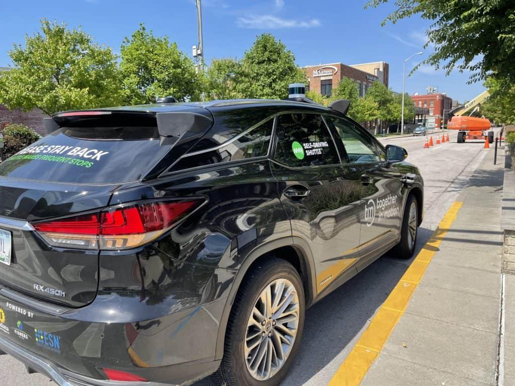 "Toyota Mobility ""shuttle"" car"