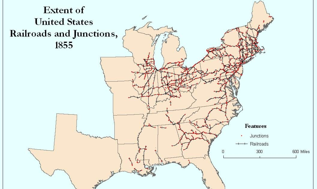 The south never built railroads for all the reasons you think 2