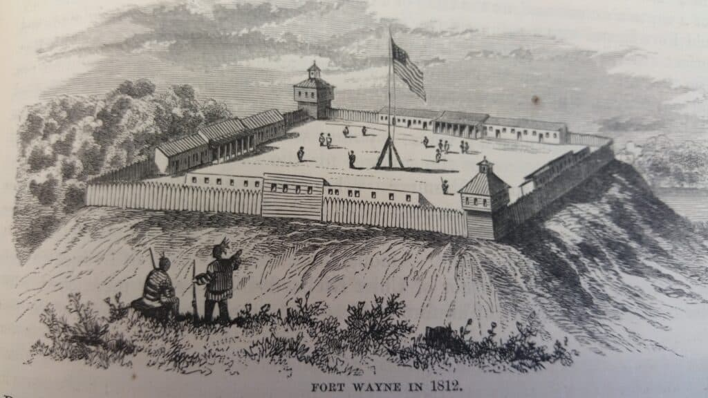 The Fort at Fort Wayne, 1812